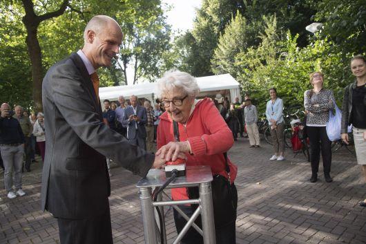 Stef Blok en Anke Oosterbaan officiele handeling Het Breed